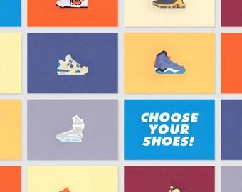 Paper - Papercut Sneakers - Nike - Air Jordan - Adidas - K1X - Reebok - LeBron - Kobe - KD - 21 x 15