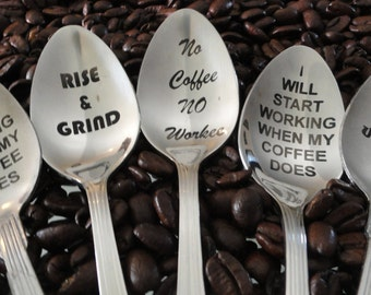 Fun Coffee Spoons