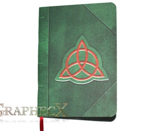 Fan-made Book of Shadows inspired Charmed personalized journal notebook