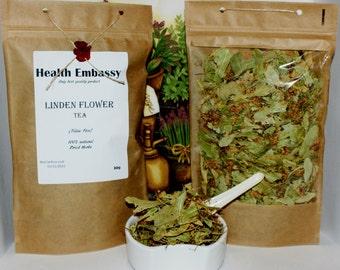 Linden Flower Tea (Tiliae Flos) - Health Embassy - Organic