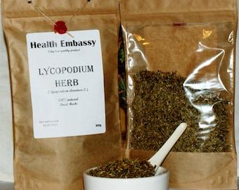 Lycopodium Herb ( Lycopodium clavatum ) - Health Embassy - Organic