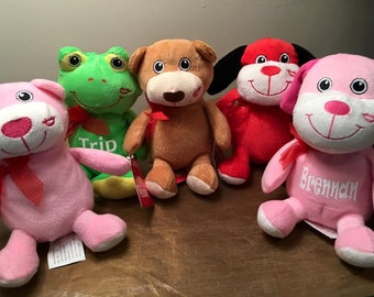 Personalized Valentine's Stuffed Animals