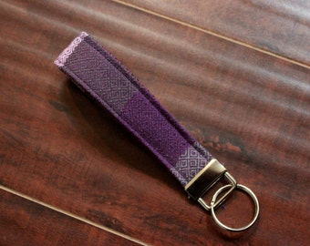 READY TO SHIP Girasol Nisus Wrap Scrap Key Fob Wristlet Key Chain