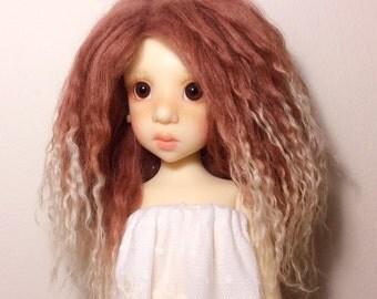 BJD mohair wig Custom made Blythe doll mohair wig BJD mohair wig SD mohair wig Blythe doll outfit Blythe doll wig
