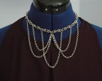 Chain Drape Necklace