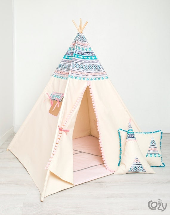 jeu pour les enfants de tipi indien tipi tente azt que par. Black Bedroom Furniture Sets. Home Design Ideas