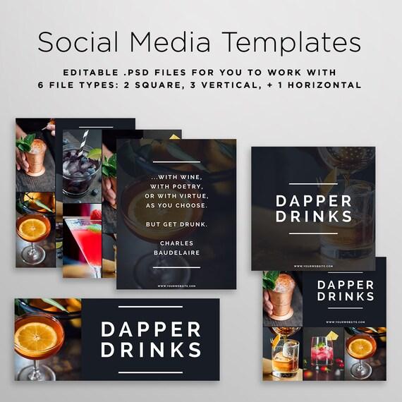 social media template psd