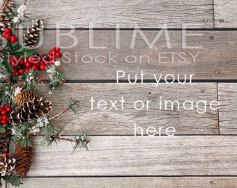 Christmas Styled Stock / Christmas Stock / Christmas Background / Christmas Mockup / Christmas Desktop / Christmas Photo / StockStyle-594