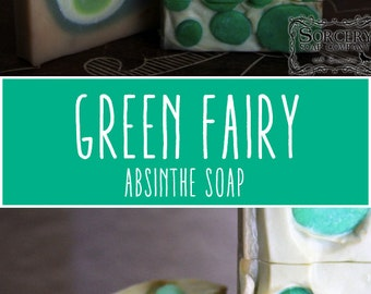 Green Fairy Absinthe Soap by Sorcery Soap