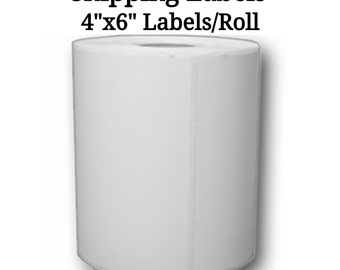 "4"" x 6"" Zebra/Eltron Compatible Shipping Label Rolls 