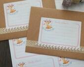 Mailing labels - Woodland Deer