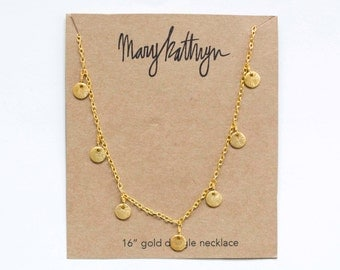 Mini Gold Dangle