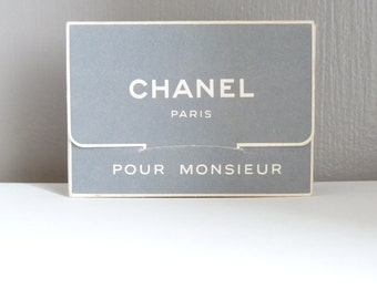 """CHANEL """"for the gentleman"""" - needed/box - vintage - travel years 50/56"""