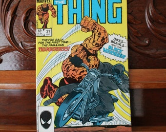 The Thing, Vol 1 No 27, September 1985, Marvel Vintage Comic