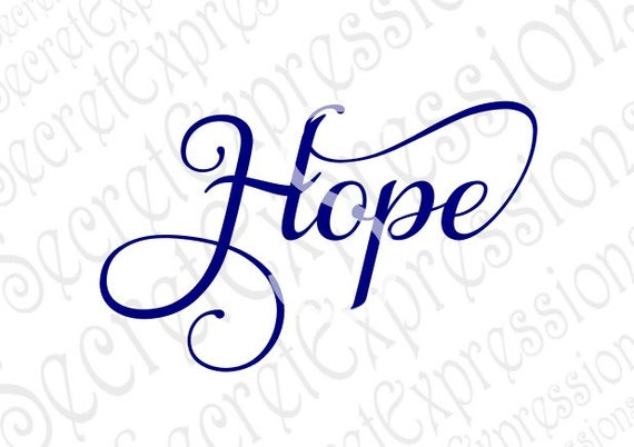 hope svg inspirational svg religious svg svg svg file