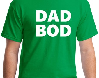 Personalized mens mens gift gift for men father gift, father shirt, father's day t-shirt, dad shirt Dad Bod workout shirts funny dad shirt