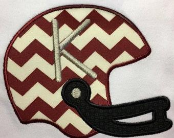 Football Helmet Tee Shirt