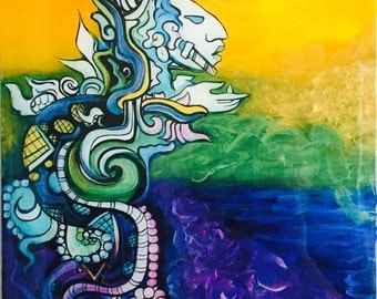 Sovereign Plumed Serpent - Kulkukan - Rainbow