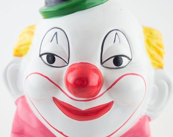Vintage Clown Bank Made in Taiwan