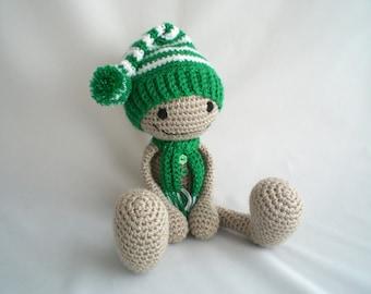 Crochet Gingerbread Man / Christmas Gingerbread man / Amigurumi Gingerbread man / Christmas Toy / Christmas Decoration / Stocking Filler.