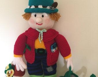 Hand-Knitted Novelty Gift for Gardening Lovers - Gerald the Gardener