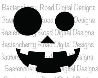 Halloween SVG, Pumpkin, SVG files, SVG design, cut files, silhouette, cricut, cutting file, instant download, vinyl