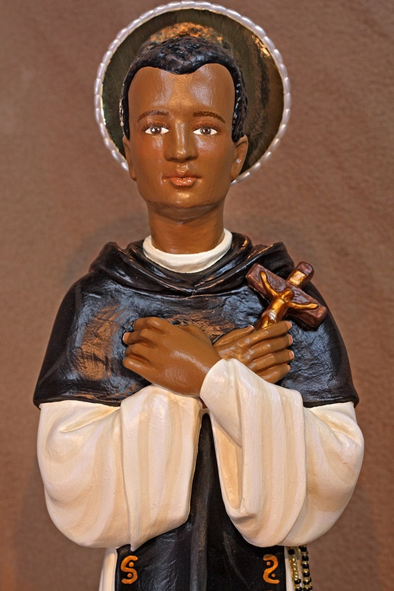 "St. Martin de Porres 18"" Patron of Mixed Races and Barbers"
