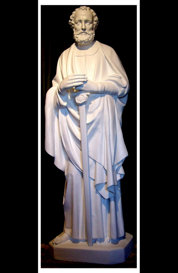 "St. Paul the Apostle 65"" Fiberglass Statue (SALE)"