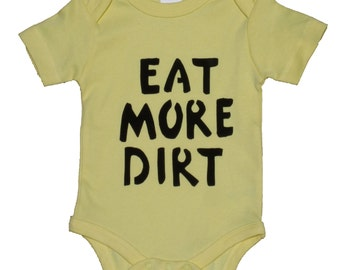 Hand-Printed Organic Cotton Onsie