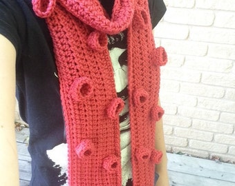 Crochet Tentacle Scarf - New Colour!