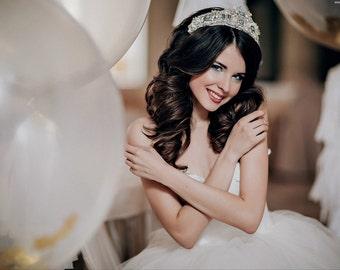 SALE! Hair Bridal Crown, Tiara, Wedding Hair Accessory