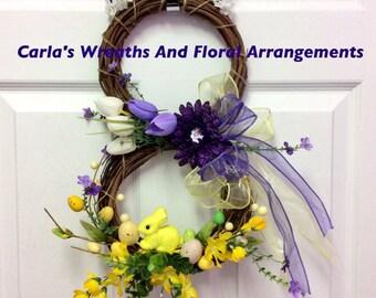 Easter Bunny Grapevine/Easter/Spring/Home Decor