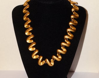 "Anne Klein Gold Tone 17"" Long Necklace."