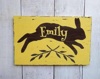 """Shop """"personalized wood signs"""" in Storage & Organization"""