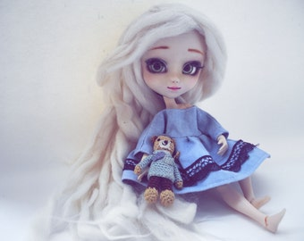 Pullip / blythe blue dress