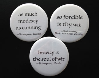 buttons - Shakespeare wit