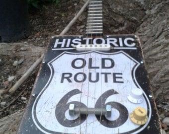 "Cigar Box Guitar ""Historic Old Rute"""