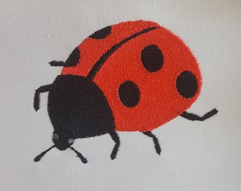 Ladybug embroidery design / Machine embroidery design