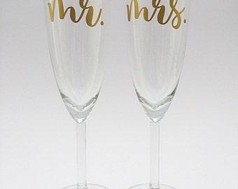 Wedding Champagne Toasting Flutes