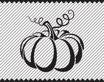 Pumpkin Clipart design - svg - ai - dxf -cdr -eps -jpeg - png - pdf -wmf -docx -Iron on Transfer  -Cricut - Vinyl Cutting - Laser Engraving