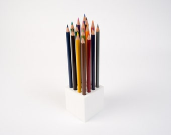 Pencil holder cube, 3D Printed