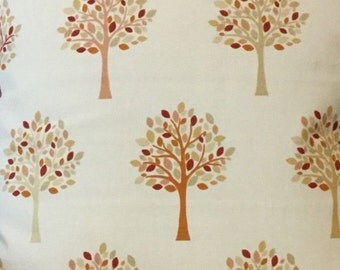 NEW !!! FRYETTS Orchard Auutumn  Cotton  Fabric for Curtain/ Light Upholstery buy as little as a metre or however much you require