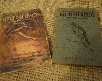 British Birds and Their Nests. A Ladybird Senior Book. First Edition. RARE. Dust Jacket