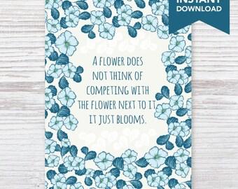 Floral Bloom 8x10