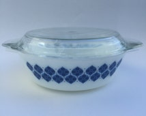 Vintage Pyrex Dish - Colditz - Danish - large size 513
