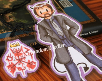 Crowley (Supernatural) Bookmark