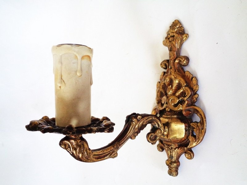 Ornate Brass Wall Lights : Wall Ornate Sconces Brass Wall Lights Brass Wall Sconce