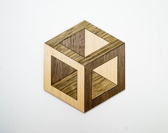 Hexagonal Coasters (pack of 6)