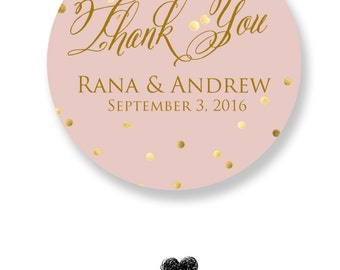 Thank You Cards Wedding Flavors (100 Cards)