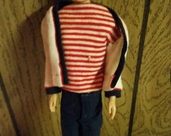 Reduced Vintage 1960 Mattel Ken Doll Dressed in 1960 Ken Clothes